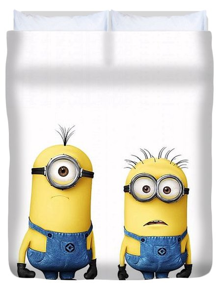 Despicable Me 2  Duvet Cover by Movie Poster Prints