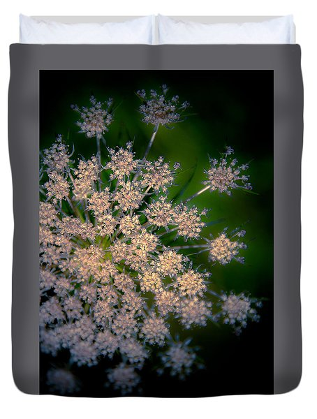 Diamonds Are Forever Duvet Cover by Loriental Photography