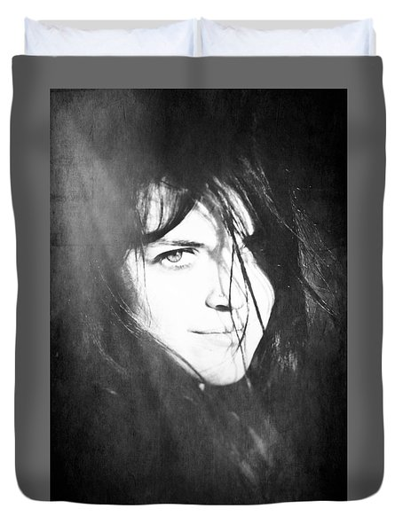 Diana's Eye Duvet Cover by Loriental Photography