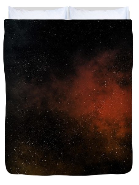 Distant Nebula Duvet Cover by Michal Boubin