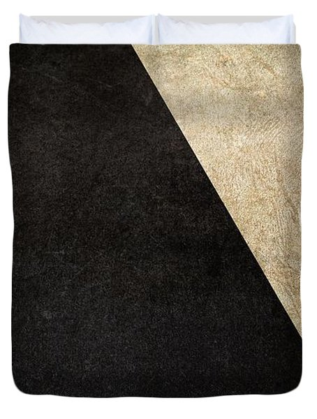Division Duvet Cover by Brett Pfister