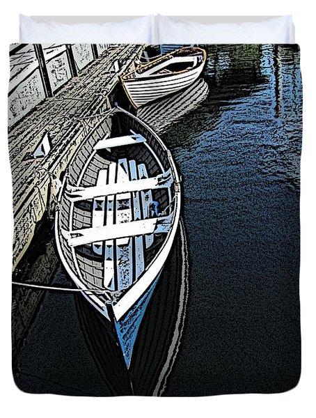 Dockside Quietude Duvet Cover by Tim Allen