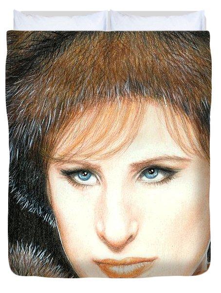 Don't Rain On My Parade Duvet Cover by Bruce Lennon