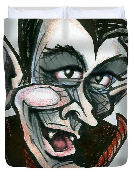 Dracula Duvet Cover by Kevin Middleton