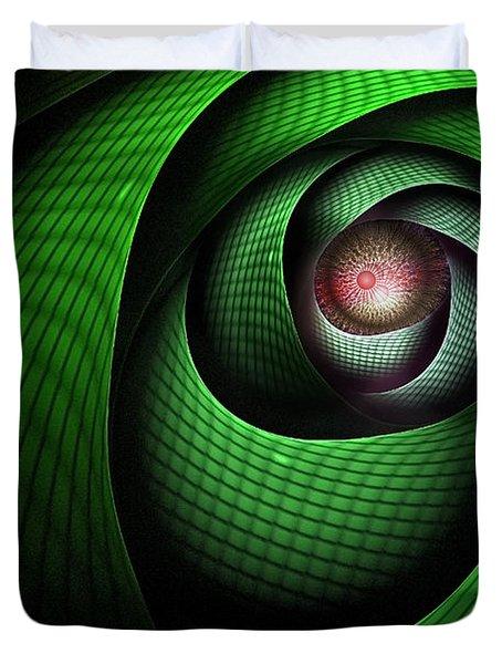 Dragons Eye Duvet Cover by John Edwards