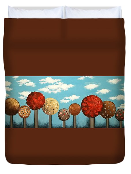 Dream Grove Duvet Cover by Graciela Bello