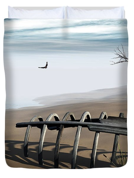 Dream Lake Duvet Cover by Richard Rizzo