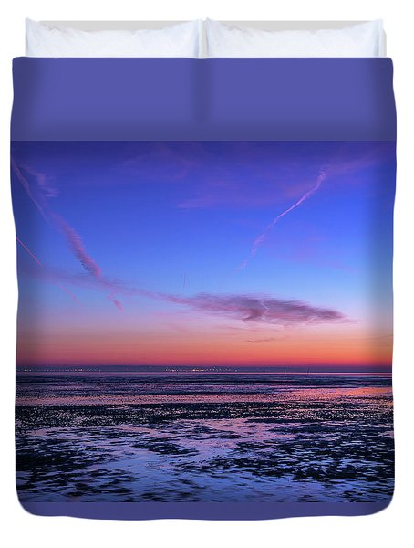 Duvet Cover featuring the photograph Dream No More by Thierry Bouriat