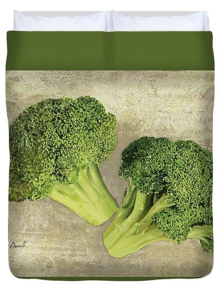 Due Broccoletti Duvet Cover by Guido Borelli