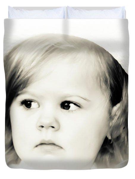 Easter Bonnet Duvet Cover by Trish Tritz