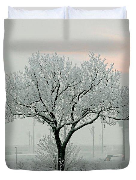 Eerie Days Duvet Cover by Christine Till