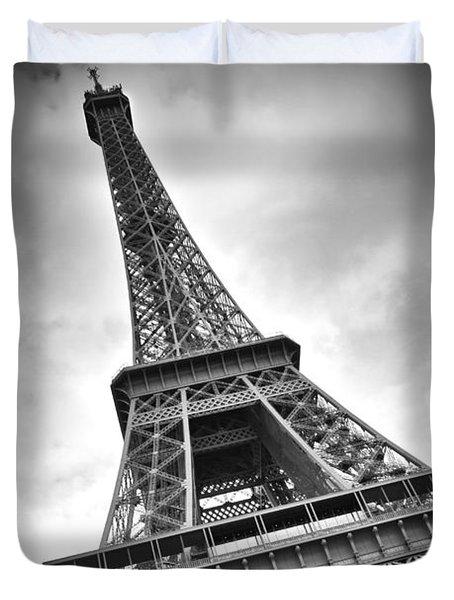 Eiffel Tower DYNAMIC Duvet Cover by Melanie Viola