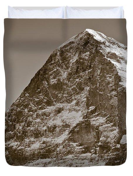 Eiger North Face Duvet Cover by Frank Tschakert