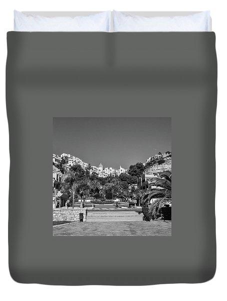El Capistrano, Nerja Duvet Cover by John Edwards