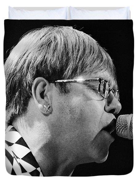 Elton John-0143 Duvet Cover by Gary Gingrich Galleries