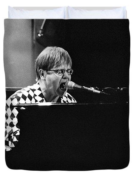 Elton John-0147 Duvet Cover by Gary Gingrich Galleries