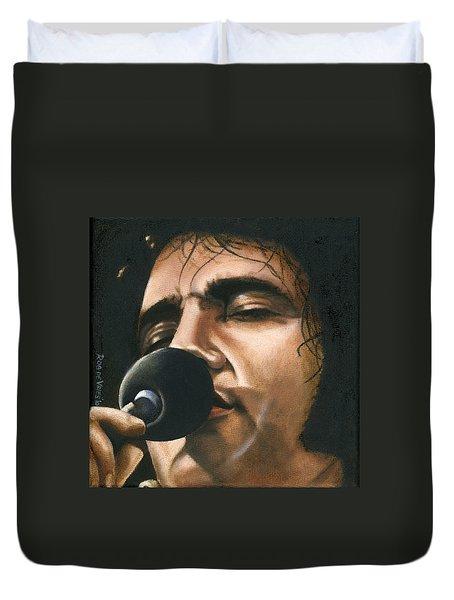Elvis 24 1972 Duvet Cover by Rob De Vries