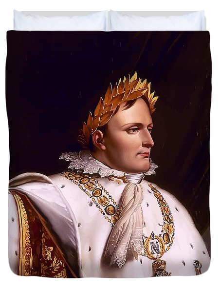 Emperor Napoleon Bonaparte  Duvet Cover by War Is Hell Store