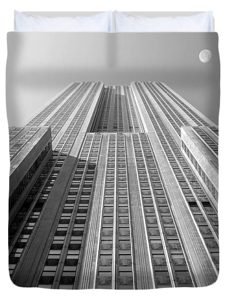 Empire State Building Duvet Cover by Mike McGlothlen