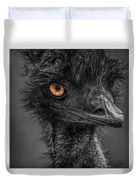 Emu Duvet Cover by Paul Freidlund