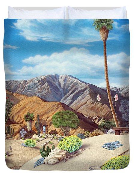 Enchanted Desert Duvet Cover by Snake Jagger