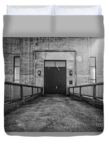 End Of The Line Duvet Cover by Edward Fielding