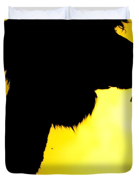 Endless Alpaca Duvet Cover by TC Morgan