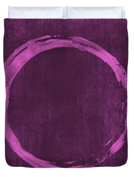 Enso 4 Duvet Cover by Julie Niemela