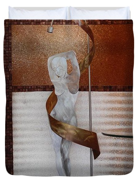 Erotic Museum Piece Duvet Cover by Rob Hans