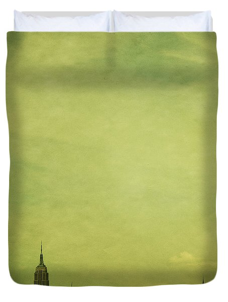 Escaping Urbania Duvet Cover by Andrew Paranavitana