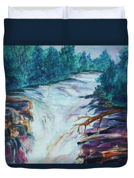 Esopus Creek Duvet Cover by Ellen Levinson