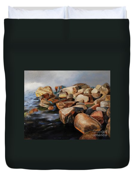 Eternal Things Duvet Cover by Jukka Nopsanen