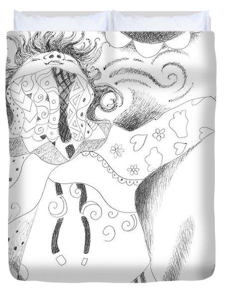 Exuberance Duvet Cover by Helena Tiainen