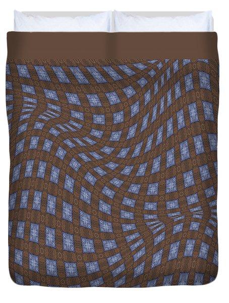 Fabric Design 17 Duvet Cover by Karen Musick