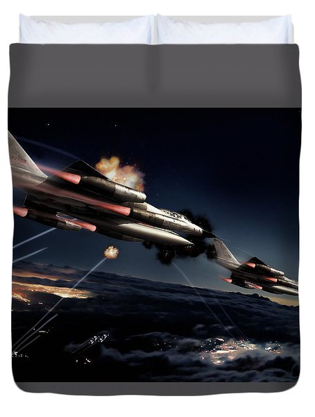 Fail Safe Duvet Cover by Peter Chilelli