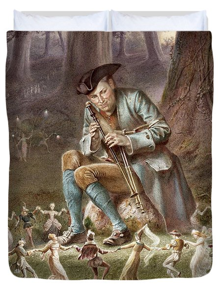 Fairy Dance Duvet Cover by William Holmes Sullivan