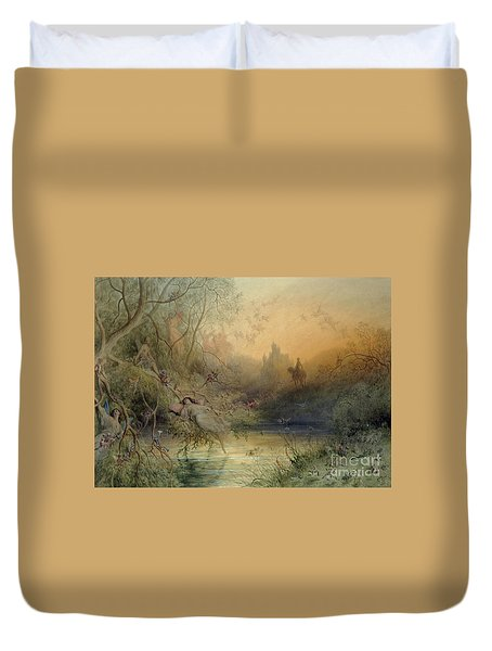 Fairy Land Duvet Cover by Gustave Dore