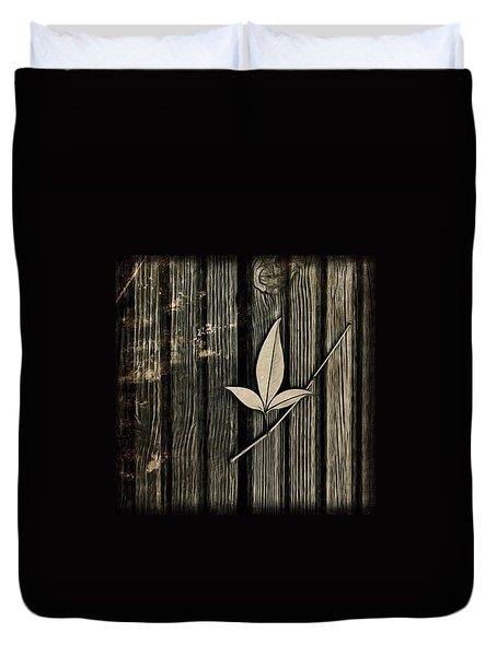 Fallen Leaf Duvet Cover by John Edwards