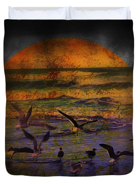 Fantasy Wings Duvet Cover by Susanne Van Hulst