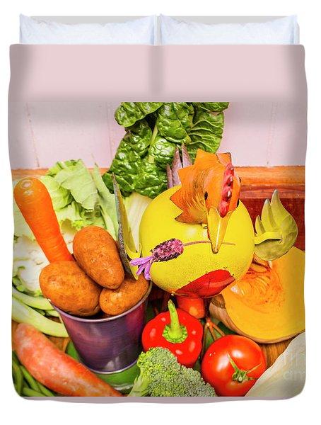 Farm Fresh Produce Duvet Cover by Jorgo Photography - Wall Art Gallery