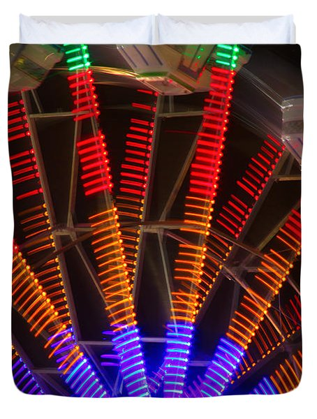 Farris Wheel In Motion Duvet Cover by James BO  Insogna