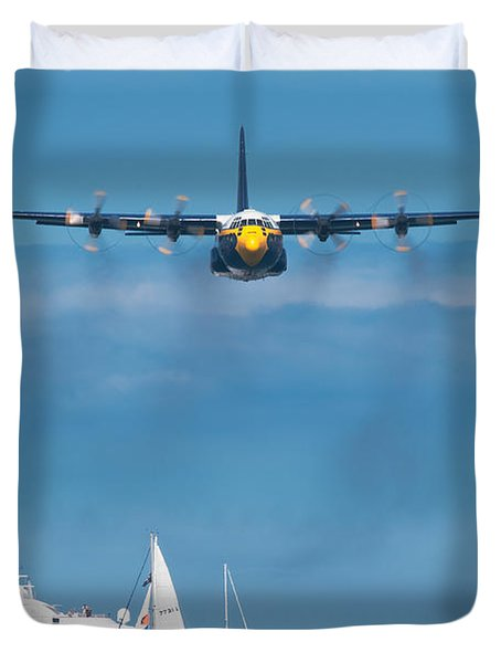 Fat Albert Duvet Cover by Sebastian Musial