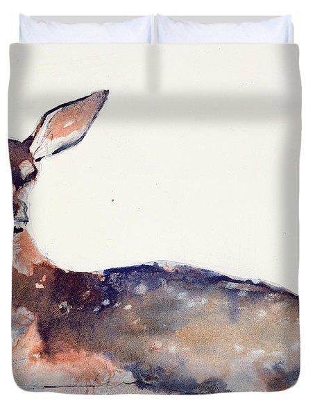 Fawn Duvet Cover by Mark Adlington