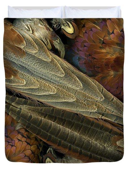 Featherdance Duvet Cover by Christian Slanec
