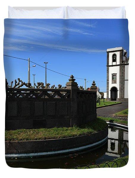 Fenais Da Ajuda - Azores Duvet Cover by Gaspar Avila