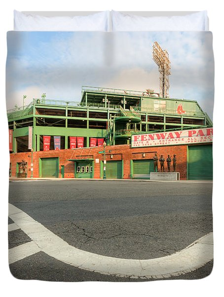 Fenway Park III Duvet Cover by Clarence Holmes