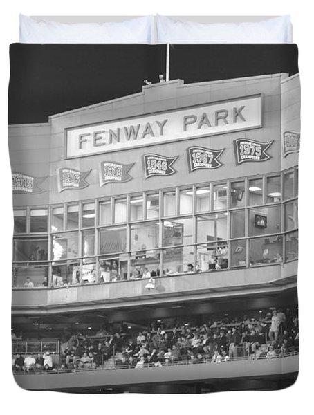 Fenway Park Duvet Cover by Lauri Novak