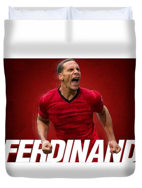 Ferdinand Duvet Cover by Semih Yurdabak