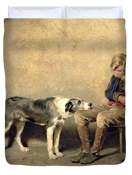 Fidelity Duvet Cover by Briton Riviere