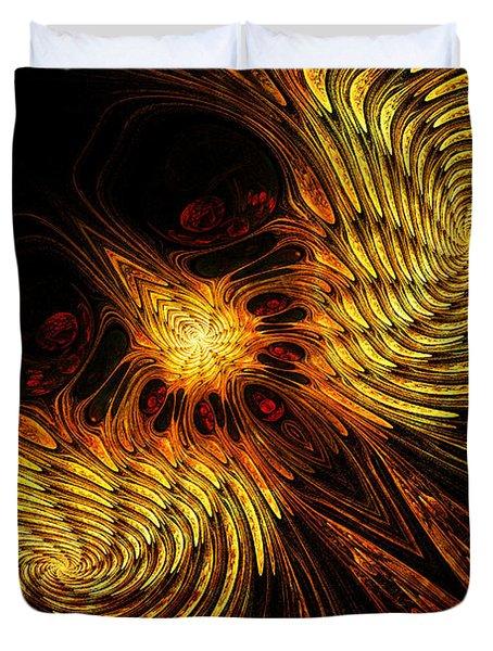 Firebird Duvet Cover by John Edwards